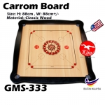 Premium A Carrom Board / Papan Carrom Board Karambol GMS-333