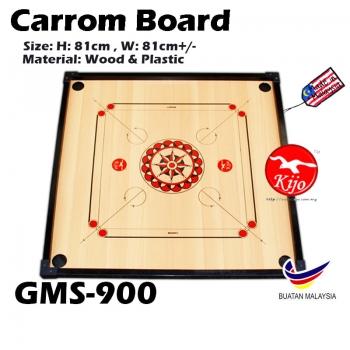 Standard Training Carrom Board / Papan Carrom Board Karambol GMS-900