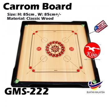 Classic A Carrom Board / Papan Carrom Board Karambol GMS-222