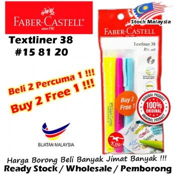 Faber-Castell Textliner 38 Bts set #158120