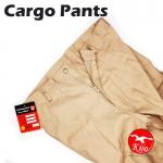 【Brown】Worker Cotton Cargo Pants / Seluar Kerja Kargo #6080