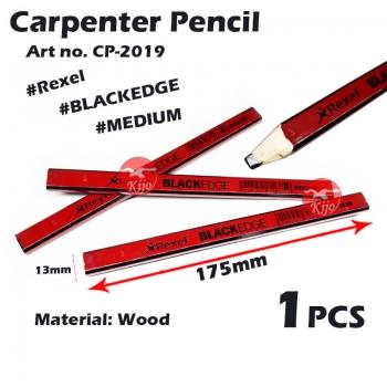 Rexel Carpenter's Pencil 175mm Pensil Tukang Kayu #2019