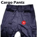 【Dark Blue】Worker Cotton Cargo Pants / Seluar Kerja Kargo #6080