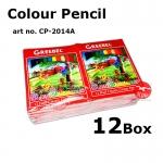 12color Wood Student Colour Pencil #2014-A