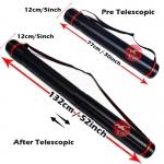 77-132cm Ø11cm A0/B0 Expandable Telescopic Drawing Tube #2607