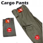 【Dark Green】Worker Cotton Cargo Pants / Seluar Kerja Kargo #6080