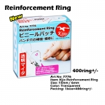 Reinforcement Ring Sticker Ring Strong Punch Paper Hole #Transparent #Clear #7776 #Ring