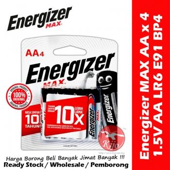 Energizer Max Alkaline Batteries AA / AAA Baterai Alkaline #Energizer #MAX #1.5V #AAA #LR03 #AA #LR6 #E91 #E92 #BP4