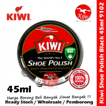 Kiwi Shoe Polish 45ml Black #9102 #Kiwi #45ml #Black