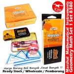 Super Marshal Mathematical Instruments Classic & Precision Geometry Set / Math Set / Mathematical Set #Marshal #Geometry #8380
