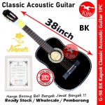 Kapok G-98 Classic Acoustic Guitar BK #Kapok #Guitar #G98 #Classic #Acoustic #BK