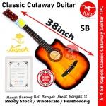 Kapok S-1 Cutaway Classic Acoustic Guitar SB #Kapok #Guitar #G7881 #S-1 #Cruve #SB