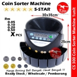 Ringgit Syiling Sen Coin Sorter Machine / Mesin Automatic Kira Duit Syiling / 马币硬币分算机 #Coin #Sorter #Duit #Syiling #Kira #CS300 #CS-300