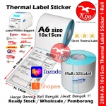 Thermal Sticker Label Self Adhesive Roll #Shipping #CN #Airway #A6 #10x15cm #2084