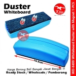 Whiteboard Duster with Magnet / White Board Marker Ink Clean Duster #Whiteboard #Duster #Soft #Easy #Protect #555 #8499