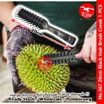 Durian Brush Comb / Black Hair Brush / Durian Clean Brush #367 #Durian #Clean #Brush #Black #Hair #Brush