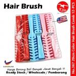 Straight Hair Brush / Half Round Hair Brush Comb / Vent Hair Brush Comb #367 #JBC #Hair #Straight #Brush #Comb #Vent