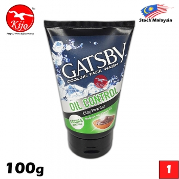 Gatsby Cooling Face Wash Oil Control 100g #Gatsby #Cooling #Face #Wash #Oil #Control #A #100g #Clay #Powder