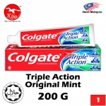 Colgate Toothpaste Triple Action Original Mint 123 Toothpaste 200g #Colgate #Toothpaste #Triple #Action #123 #Original #