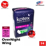 Kotex OVERNIGHT Wing 14 Pads 28cm #Kotex #Overnight #Wing #28cm #14Pads