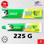Darlie Toothpaste Double Action Fresh Clean Original Strong Mint Fluoride Toothpaste Natural Mint Essence 225G #Darlie #