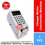 15-Digits Cheque Writer / Electronic Checkwriter Turbo Fast Printer LED Light Setting Lock #RM #SGD #USD #EURO #¥ #Print #9288