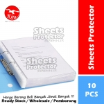 Sheet Protector A4 Size 11-Hole Transparent Super Clear OPP File Refill / Pocket File Refill #A4 #Sheet #Protector #10 #1831