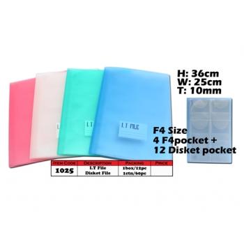 1025 KIJO I.T File Pocket & Disket File