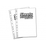 Sheet Protector A4 Size 11-Hole Transparent Super Clear OPP File Refill / Pocket File Refill #A4 #Sheet #Protector #100 #8772