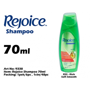 9338 Rejoice Shampoo 70ml - RSS