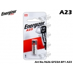 9626 Energizer 12V Alkaline Battery A23 / GP23A