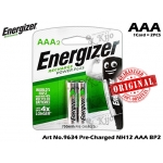 9634 Energizer Recharge Power Plus NH12 AAA BP2