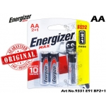 9331 Energizer Battery MAX AA E91 BP-3(B2G1)