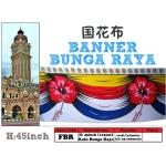 Banner Bunga Raya Malaysia