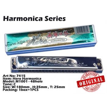 7415 Hero Harmonica Tone: C
