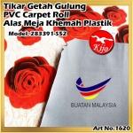 Tikar Getah Gulung / PVC Carpet Roll / Alas Meja Khemah Plastik 1620 283391-6