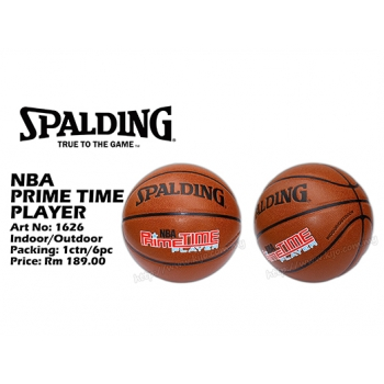 1626 Spalding NBA Prime Time Player Basketball