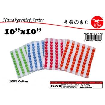 1515-B KIJO Love Style Handkerchief